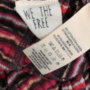 Free People Sweaters - FREE PEOPLE retro stripe lettuce sweater